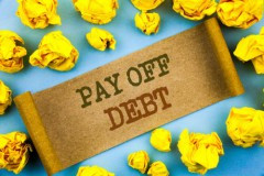 sign with pay off debt