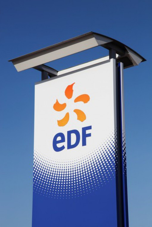 EDF Head Quarters Sign