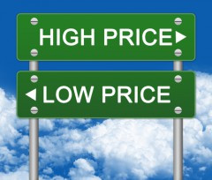 energy price low or high